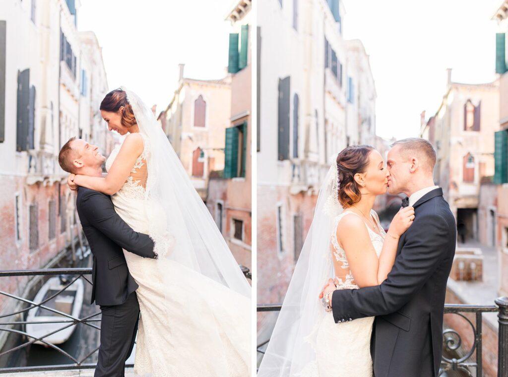 Venedig Shooting auf der Brücke Ponte Storto