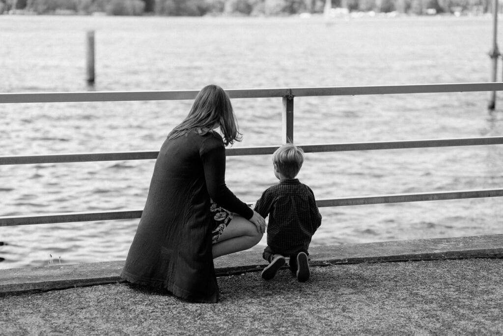 Babybauch Fotos in Berlin am Wannsee