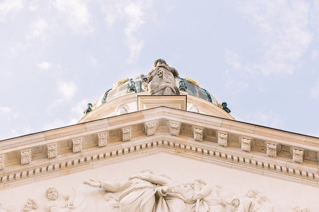 Dach Deutscher Dom Gendarmenmarkt Berlin
