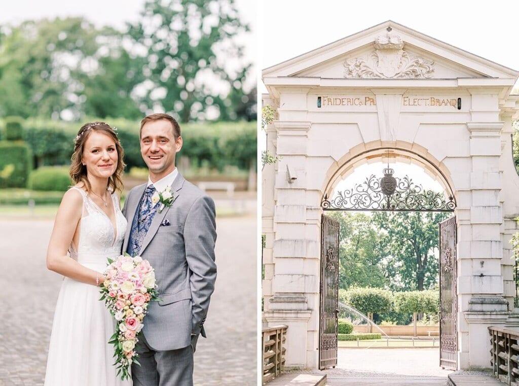 Brautpaar im Schlosspark Köpenick
