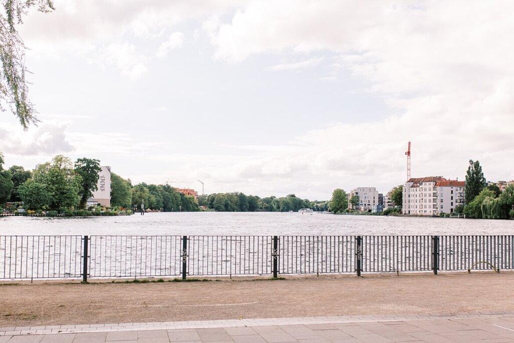 Sicht auf die Dahme in Berlin