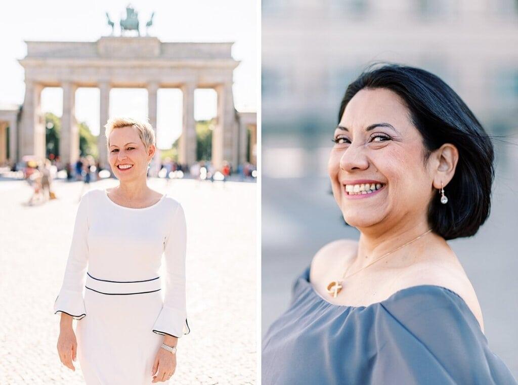 Portrait von Frauen in Berlin
