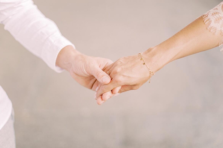 Nahaufnahme von Händen
