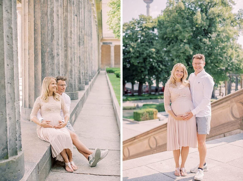 Ein Paar auf der Museumsinsel