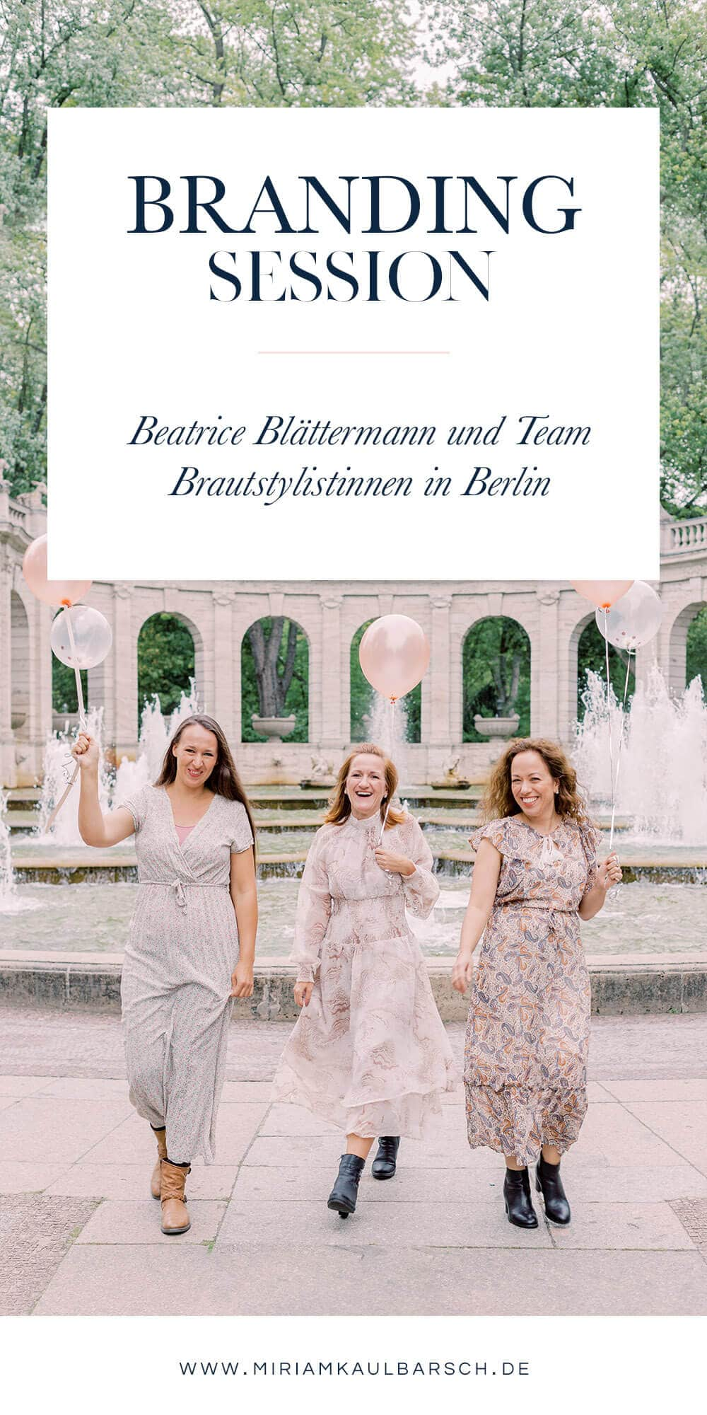Branding Session mit Braut Stylistin Beatrice Blättermann in Berlin