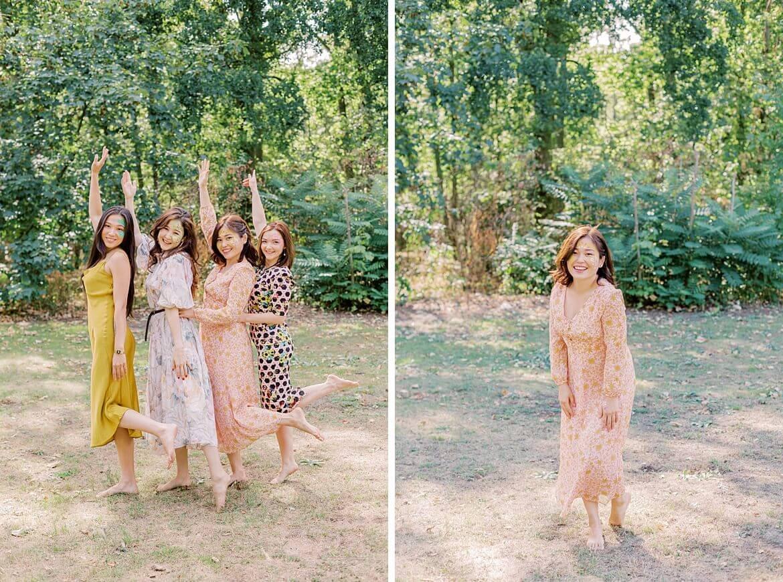 4 Frauen im Park