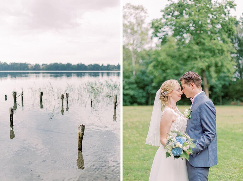 See als Stillleben und Brautpaar auf Wiese