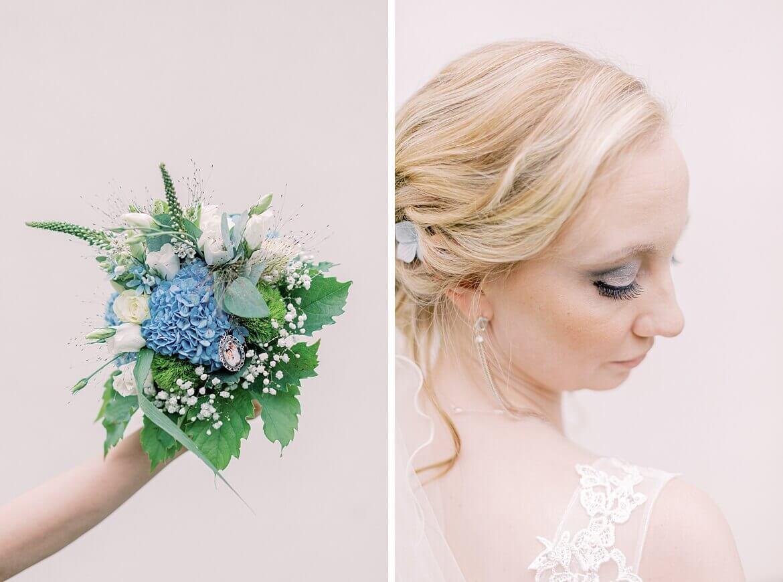 Details einer Braut