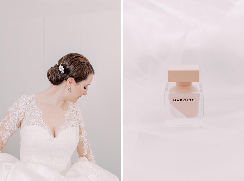 Braut und Parfum