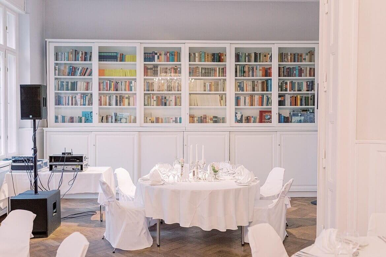 Bibliothek des Gästehaus Blumenfisch