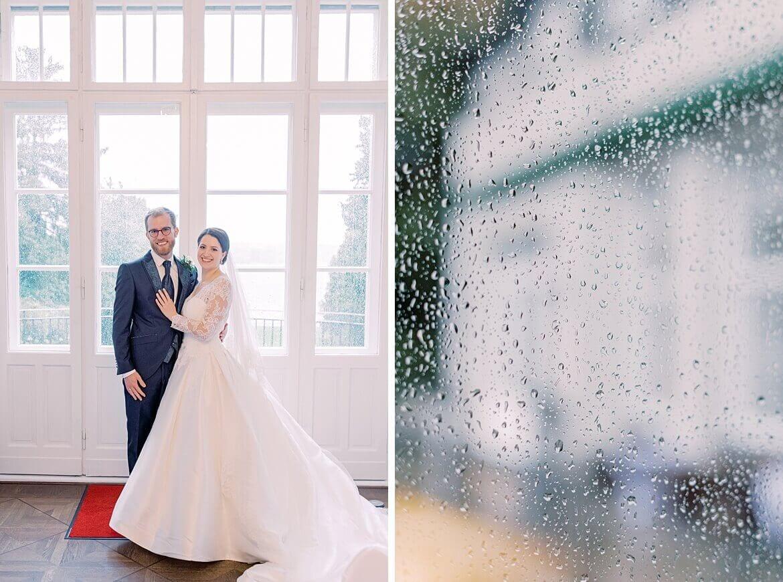 Brautpaat im Gästehaus Blumenfisch