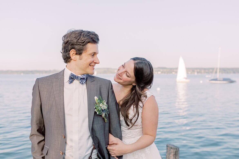 Brautpaar beim Ammersee