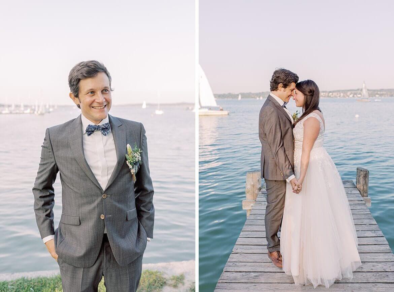 Brautpaar am Ammersee