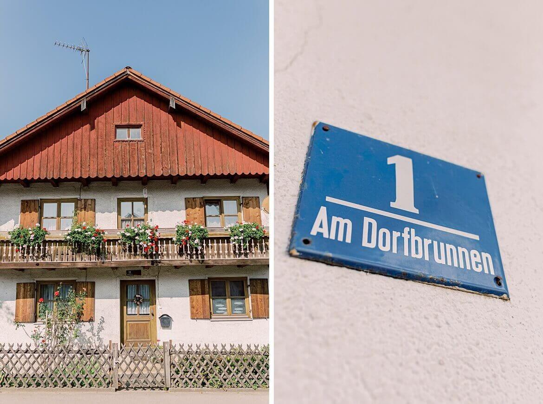 Häuser in Utting am Ammersee