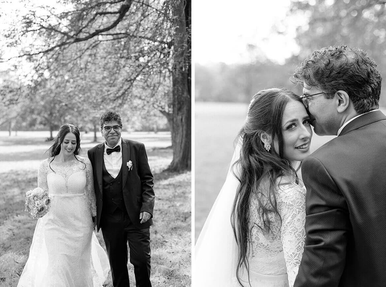 Brautpaar im Englischen Garten München