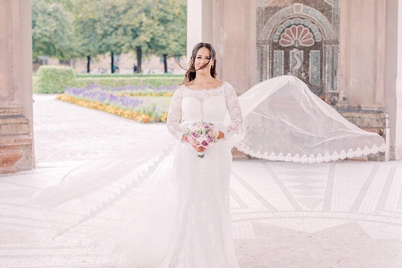 Braut im Hofgarten München