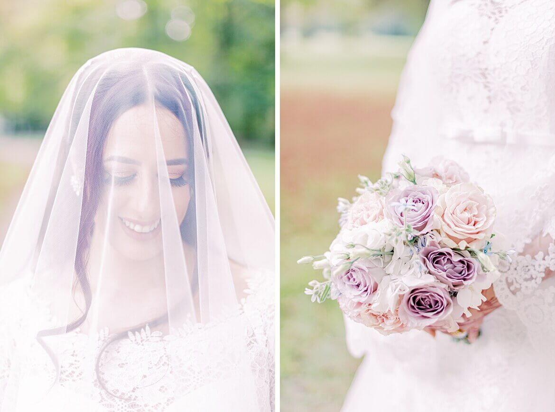 Braut im Englischen Garten München