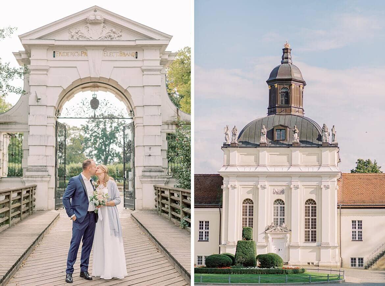 Schloss Köpenick Brautpaar