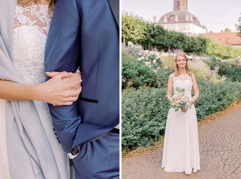 Brautpaar im Schloss Köpenick
