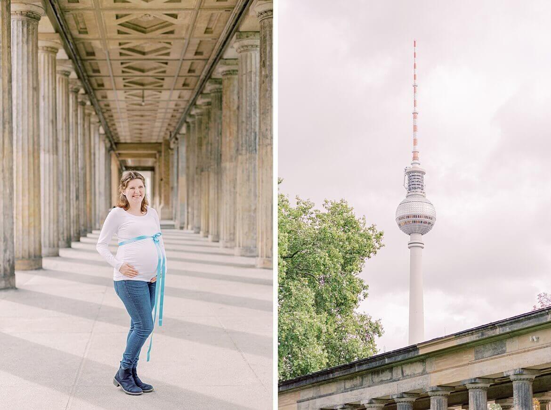 Schwangere Frau in Berlin