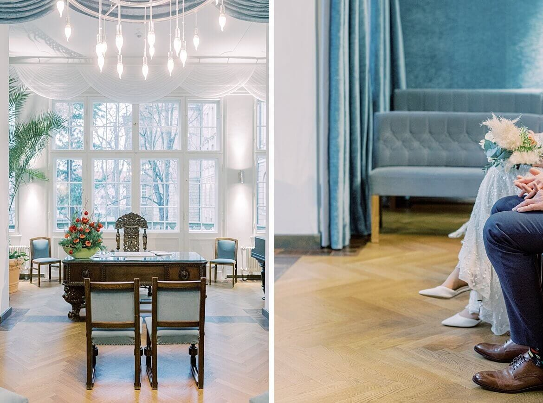 Standesamt Blauer Saal im Rathaus Potsdam