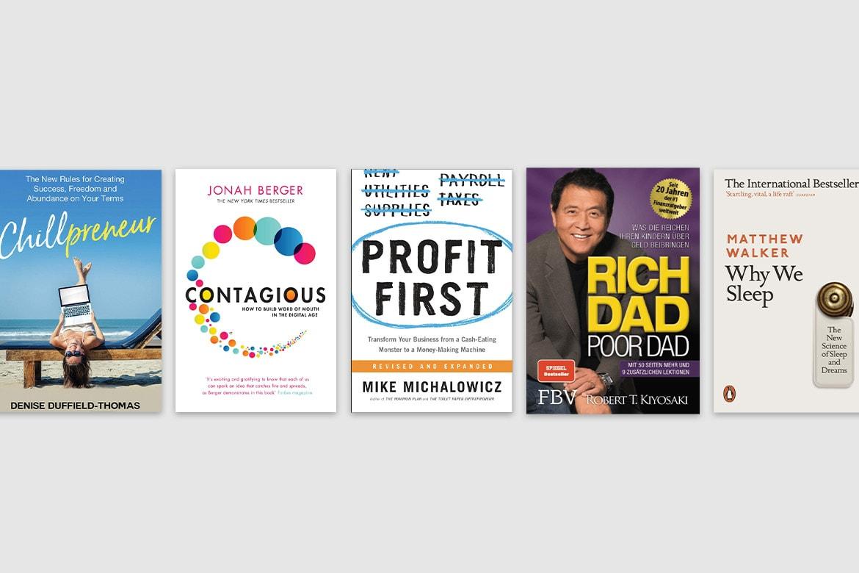 5 Buchempfehlungen für dich persönlich oder dein Business und Mindset