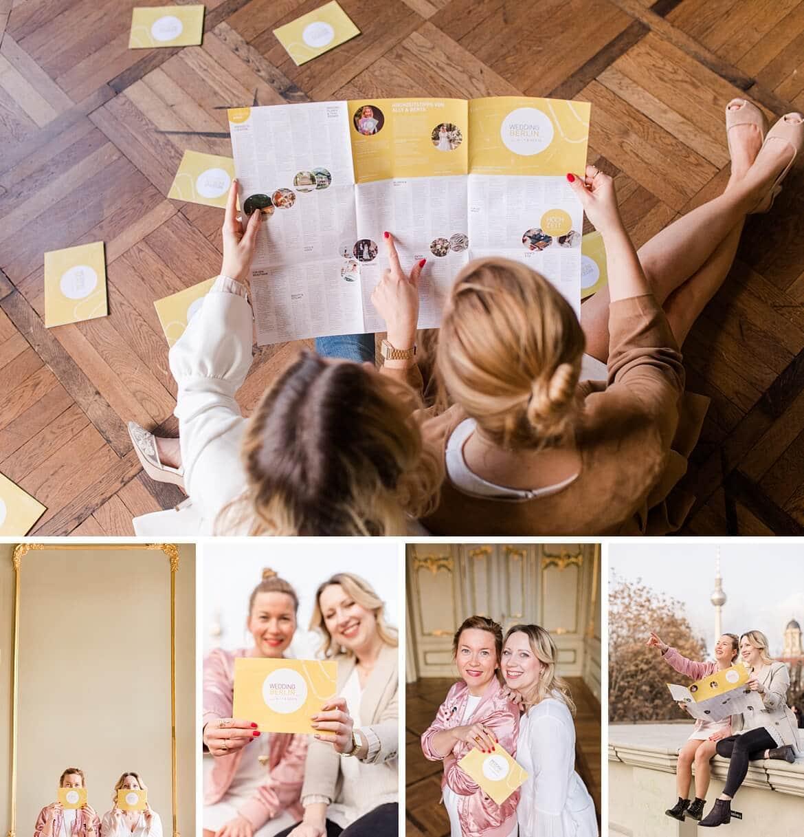 Wedding Map Berlin Brand Shoot
