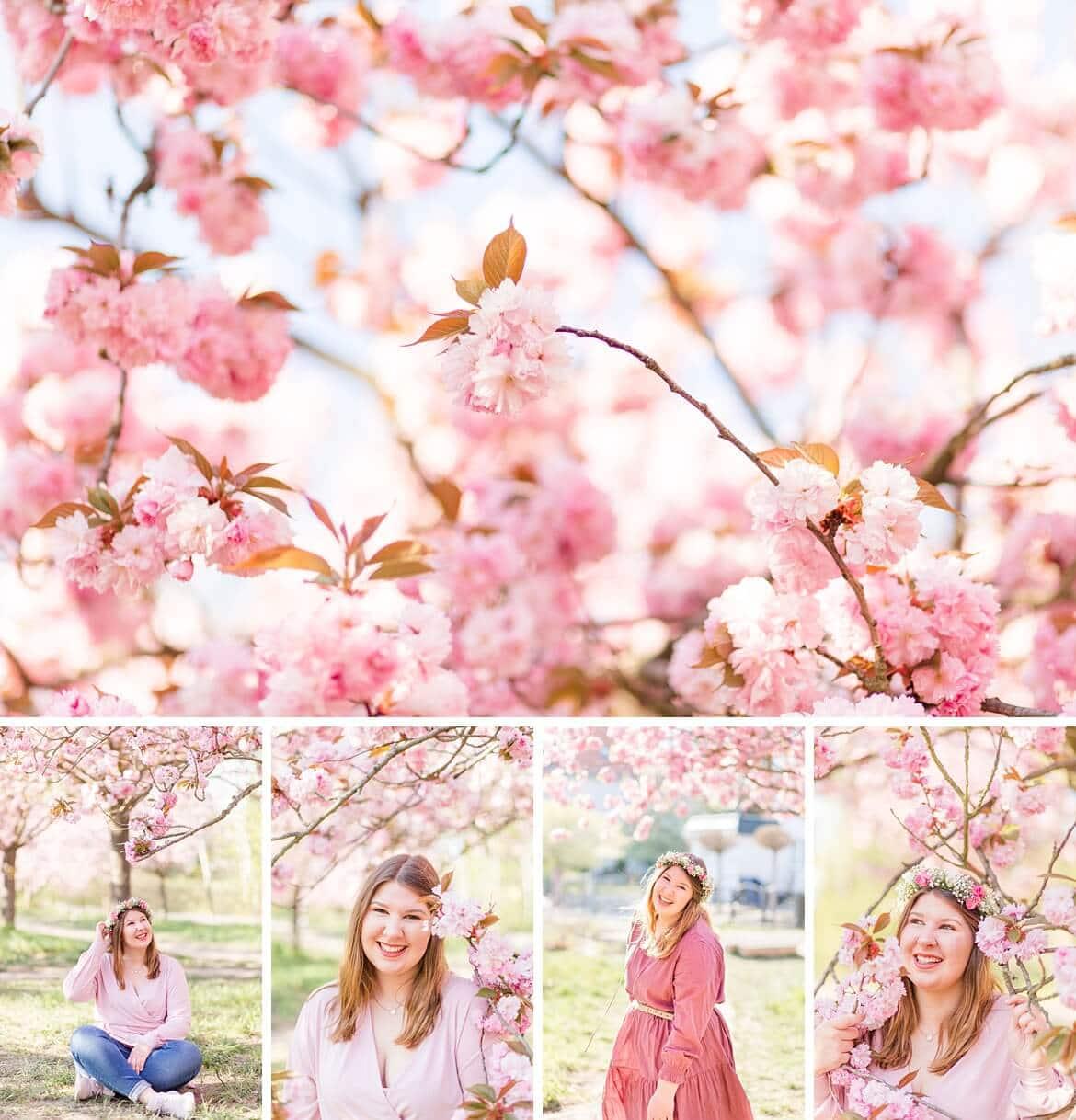 Lara Kirschblüten Portraits
