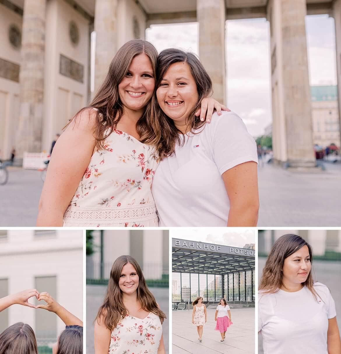 Jessica und Yvonne Portraits