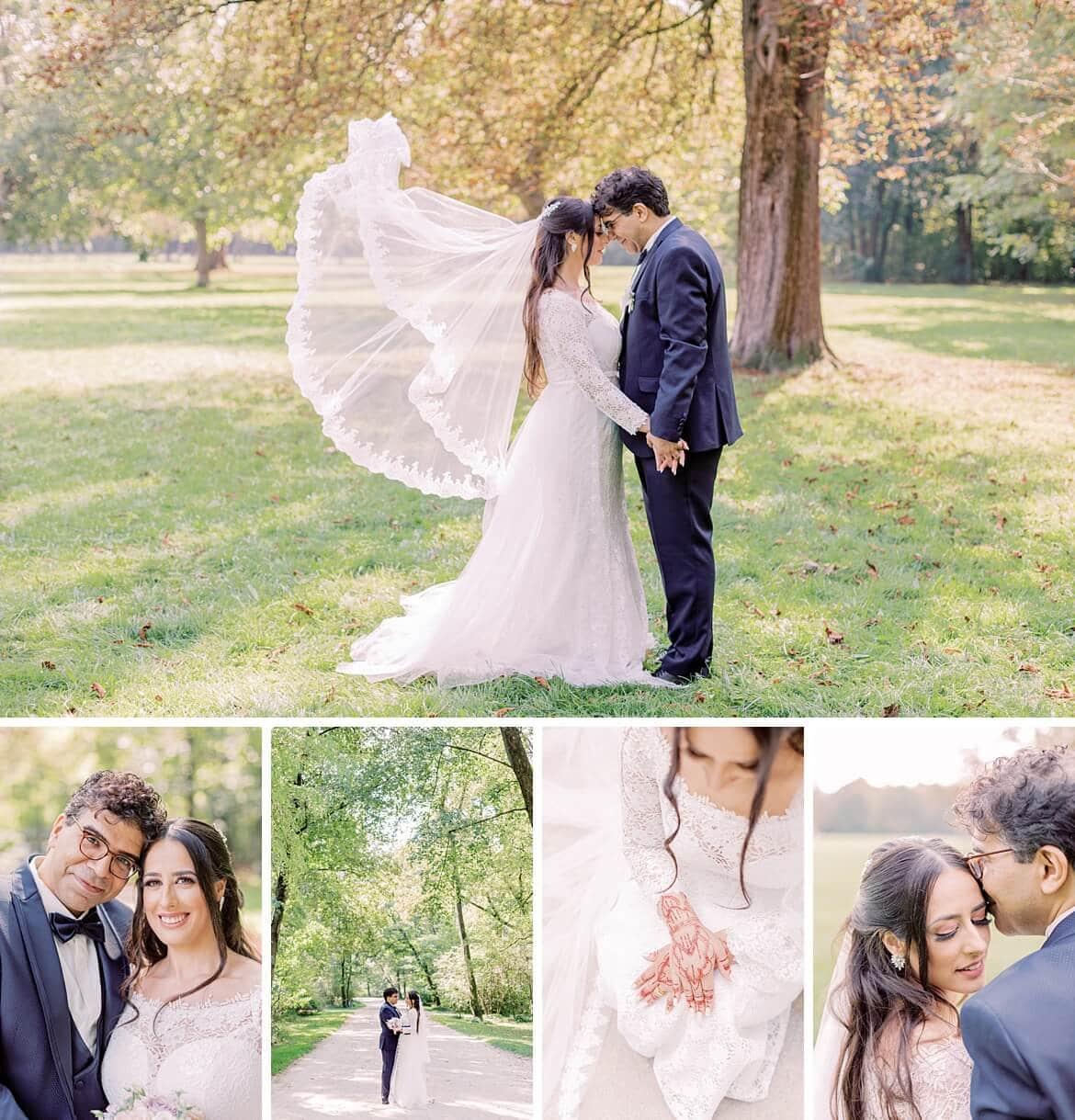 Amina und Atef Hochzeit