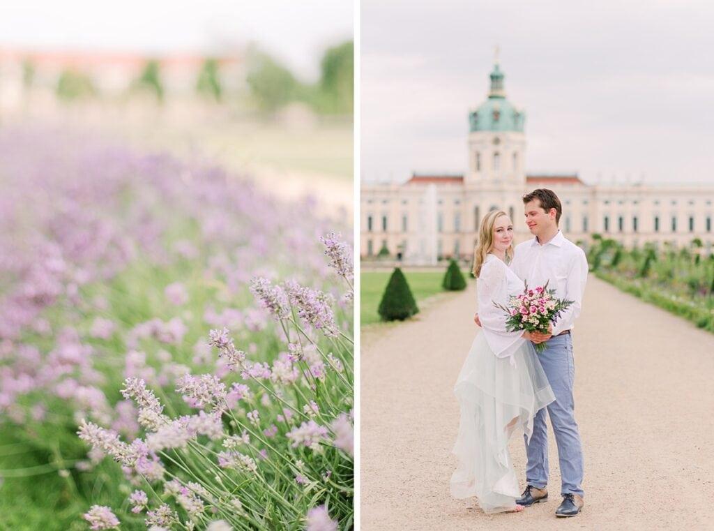Paar im Sommer in Berlin Charlottenburg