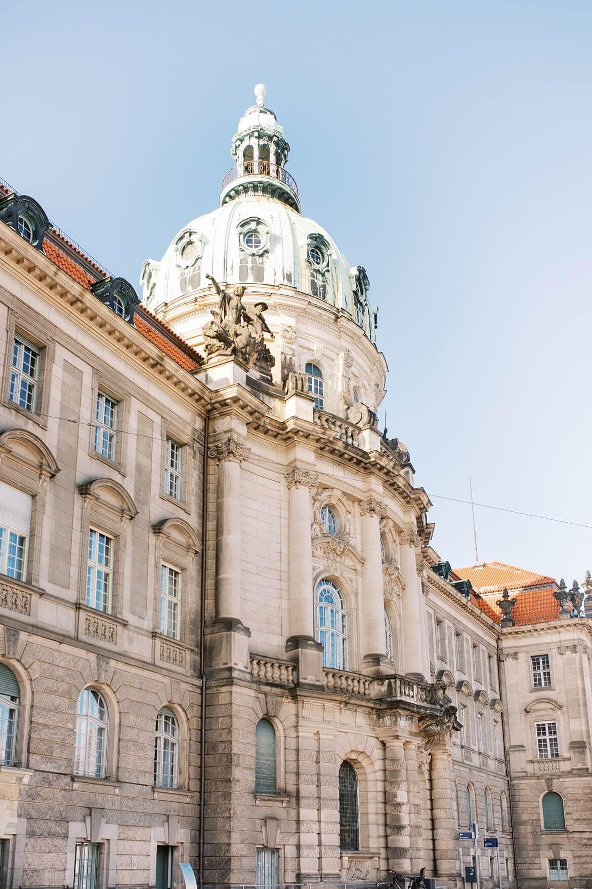 Rathaus Potsdam im Winter