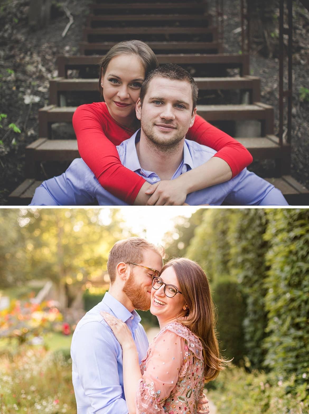 Verlobungsshooting vorher nachher