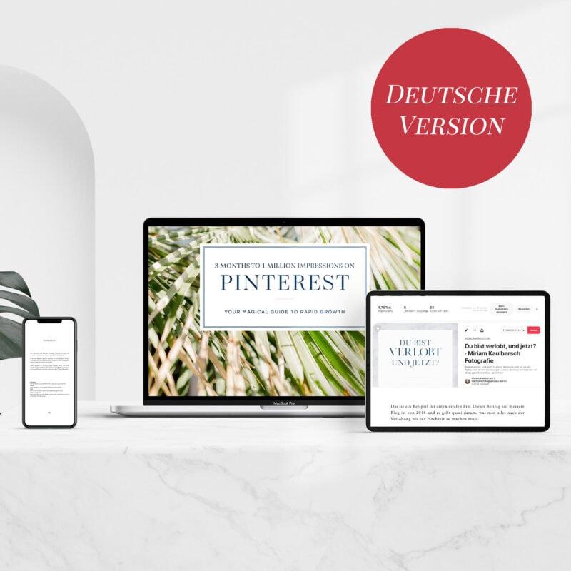 3 Months to 1 Million Impressions on Pinterest - Your Pinterest Guide DEUTSCH