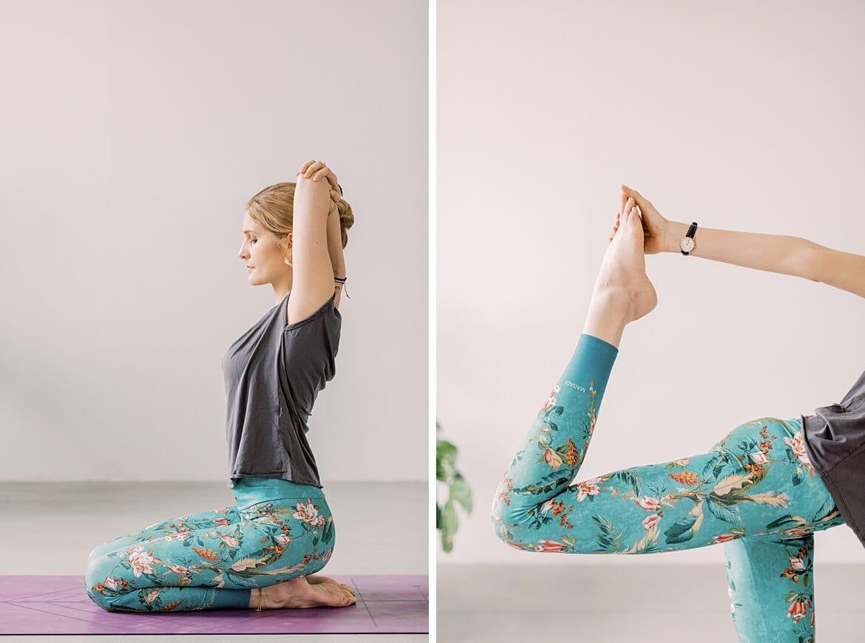 Yoga Posen von Johanna