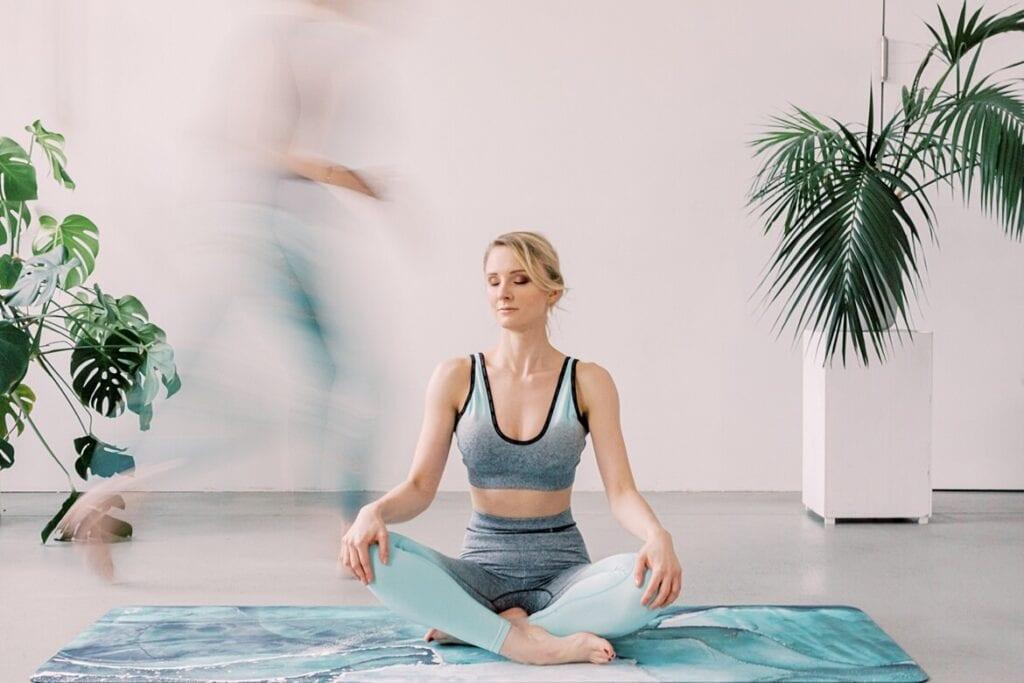 Julia in Meditation