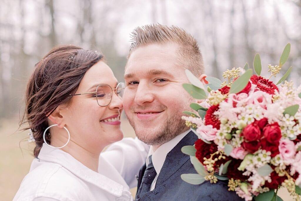 Brautpaar in Berlin Reinickendorf
