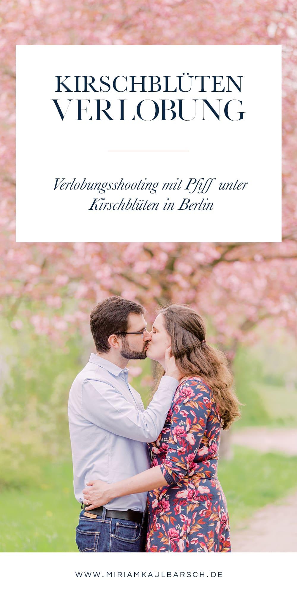 Kischblüten Verlobung mit Pfiff in Berlin