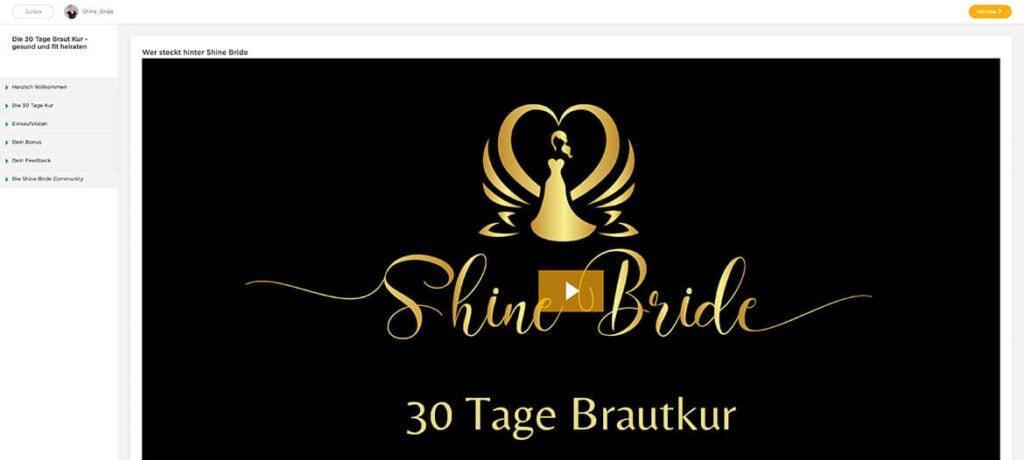 30-Tage-Brautkur Online Programm von Shine Bride