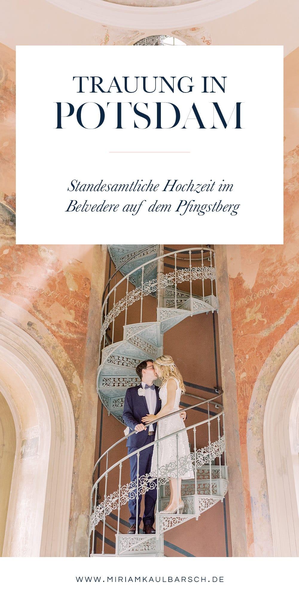 Standesamtliche Hochzeit im Maurischen Kabinett des Belvedere auf dem Pfingstberg Potsdam