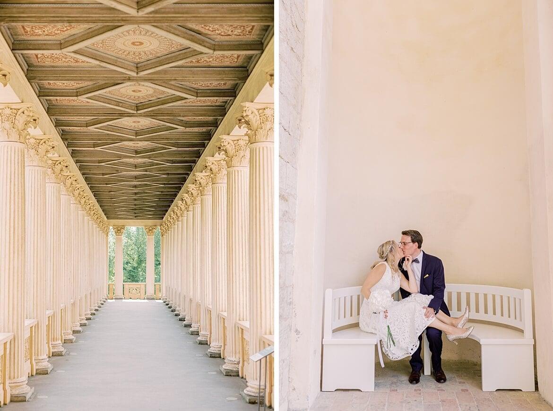 Brautpaar im Belvedere Pfingstberg