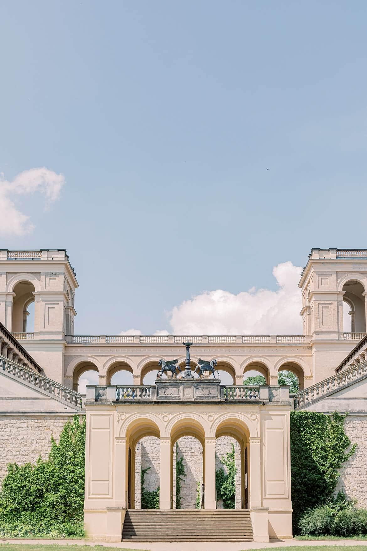 Außenaufnahme des Belvedere Pfingstberg