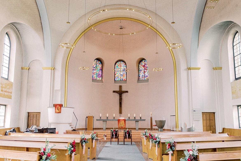 Innenaufnahme der Markus Kirche Berlin Steglitz