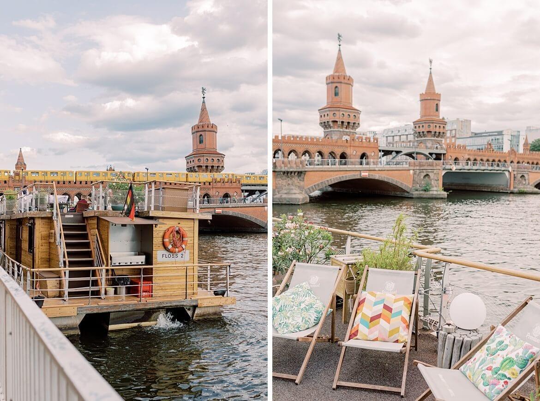 Oberbaumbrücke und Hauptstadtfloß