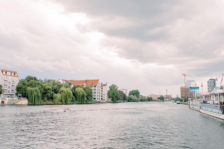 Berlin vom Wasser aus