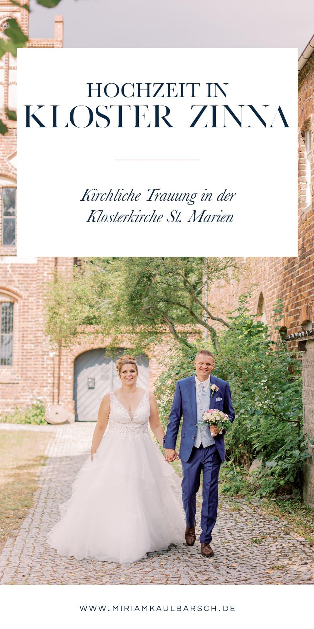 Hochzeit in Kloster Zinna - Trauung in der Klosterkirche St. Marien und Feier in der Alten Försterei