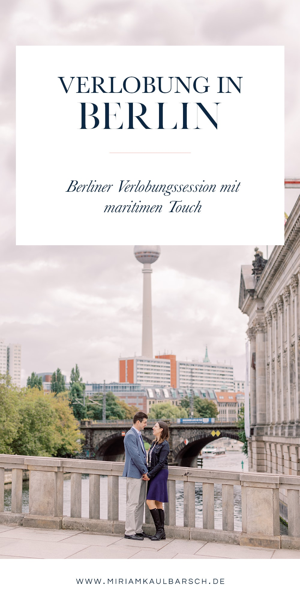 Verlobung mit maritimen Touch in Berlin