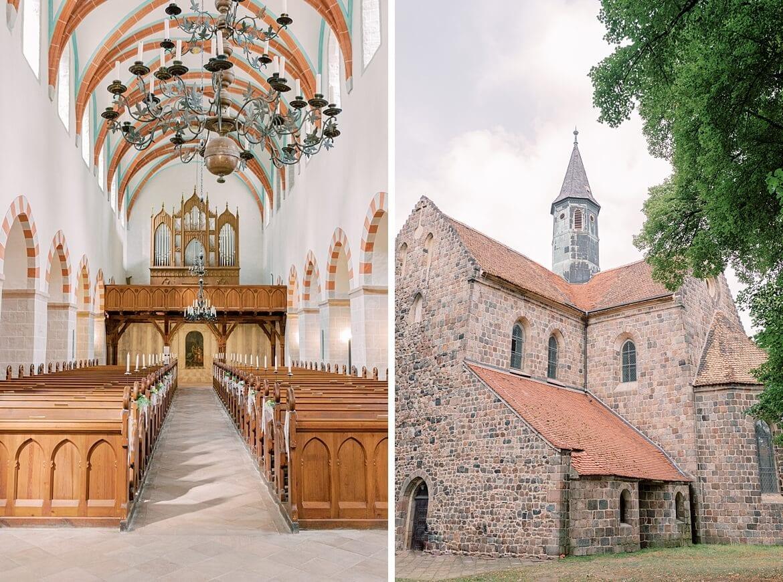 Außen und Innenaufnahme Klosterkirche St. Marien