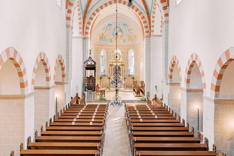 Innenaufnahme Klosterkirche St. Marien