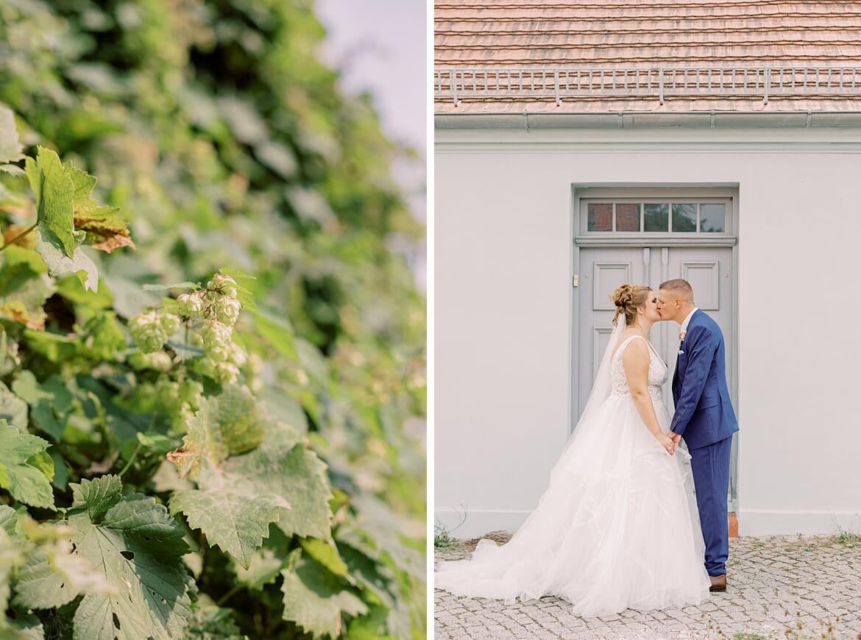 Brautpaarfotos in Kloster Zinna